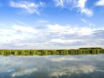 De deltalagune van Donau royalty-vrije stock foto
