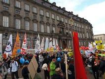 De Demonstratie van de Verandering van het Klimaat van de V.N. Royalty-vrije Stock Afbeelding
