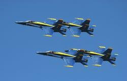 De demonstratieeskader van de Engelen van de Marine van de V.S. Blauw Royalty-vrije Stock Afbeeldingen