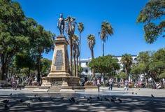 De der Piazzas 25 Mayo - Sucre, Bolivien Lizenzfreie Stockbilder
