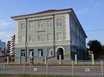 De derde bouw van de Economische Universiteit in Varna royalty-vrije stock foto
