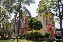 De derde Kapel van de Orde in Cuernavaca Mexico Royalty-vrije Stock Afbeeldingen
