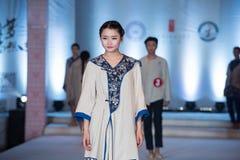 De derde reeks van Ya-kleding-manier toont Stock Afbeelding