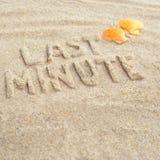 De dernière minute Image stock
