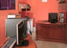 De Desktop van de computer Stock Foto's