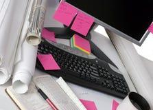 De Desktop van de techniek Stock Foto's