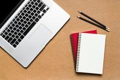 De Desktop van het bureau Stock Fotografie