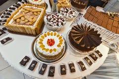De desserts van de catering Royalty-vrije Stock Foto's