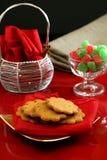 De Desserts van Kerstmis Royalty-vrije Stock Foto