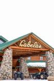 De Detailhandelbuitenkant van Cabela royalty-vrije stock afbeeldingen