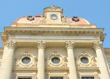 De details van de architectuur National Bank van Roemenië Royalty-vrije Stock Afbeelding
