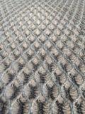 De details van de de stoffenstoffering van het honingraatnetwerk is een apparaat van motorfiets Royalty-vrije Stock Foto