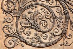 De details van de deur Stock Afbeeldingen