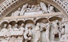 De details van de kathedraal Stock Foto's