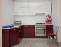 De details van de keuken Stock Afbeelding