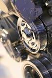 De Details van de motor Stock Foto's