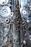 De details van de motor abstracte achtergrond Stock Fotografie