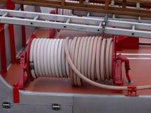 De Details van de Motor van de brand stock afbeelding