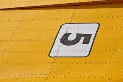 De details van de motorboot Stock Afbeelding