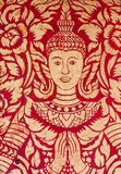 De details van de poort van de tempel Royalty-vrije Stock Afbeelding