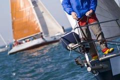 De Details van de regatta stock foto's