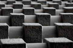 De details van het graniet van architectuur Stock Afbeelding