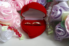 De details van het huwelijk stock fotografie