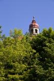 De details van het kasteeltorens van Nachod Stock Fotografie