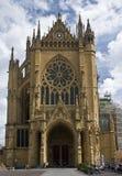 De details van St.Etienne van de kathedraal Stock Afbeeldingen