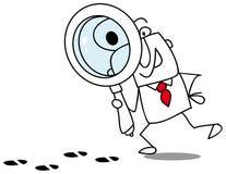 De detective Stock Afbeelding
