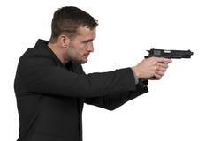 De Detective van de mensenpolitie stock foto