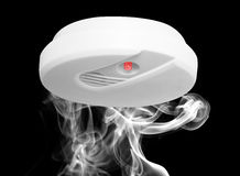De detector van de rook Stock Afbeeldingen