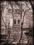 De deur aan het Verleden Stock Foto's