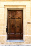 De deur aan StPeter& x27; s Manastery Stock Foto's