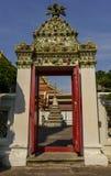 De deur, pagode Royalty-vrije Stock Afbeeldingen