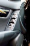 Verschillende knopen op de autodeur Royalty-vrije Stock Foto's