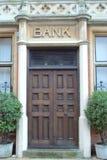 De Deur van de bank Stock Foto's