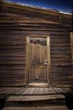 De deur van de cabine royalty-vrije stock fotografie