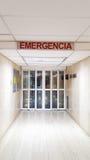De deur van de het ziekenhuisnoodsituatie Stock Afbeeldingen