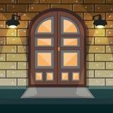 De Deur van de huisingang Royalty-vrije Stock Foto