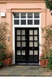 De deur van de ingang Royalty-vrije Stock Afbeeldingen