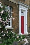 De deur van de ingang, Engeland Stock Afbeeldingen