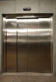 De deur van de lift stock foto