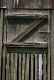De deur van de loods Stock Afbeelding