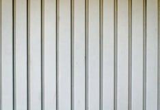 De deur van de metaalgarage Stock Foto's