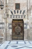 De deur van de moskee Stock Fotografie