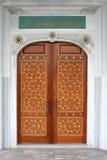 De deur van de moskee Stock Afbeeldingen