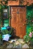 De deur van de muziek Royalty-vrije Stock Afbeelding