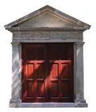 De deur van de roman-stijl Stock Afbeeldingen