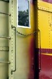 De deur van de trein stock fotografie